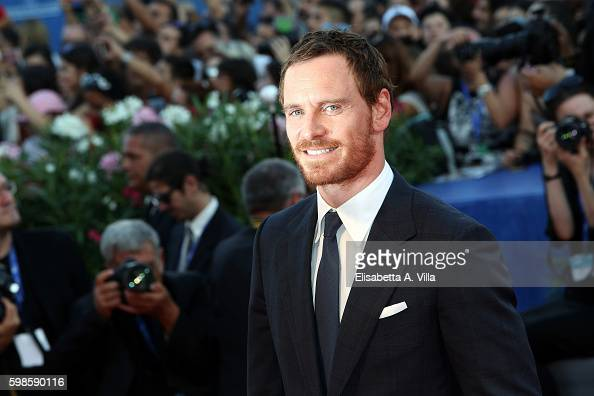 Actor Michael Fassbender attends the premiere of 'The Lights Between Oceans' during the 73rd Venice Film Festival at Sala Grande on September 1 2016...