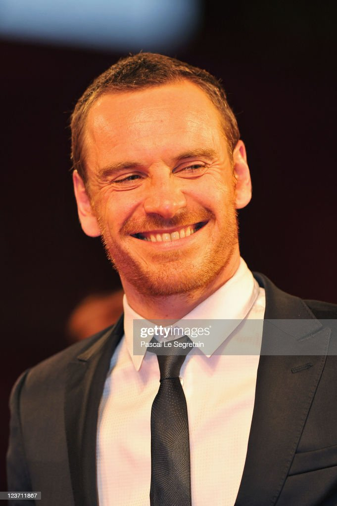 Actor <a gi-track='captionPersonalityLinkClicked' href=/galleries/search?phrase=Michael+Fassbender&family=editorial&specificpeople=4157925 ng-click='$event.stopPropagation()'>Michael Fassbender</a> attends the 'Shame' premiere during the 68th Venice Film Festival at Palazzo del Cinema on September 4, 2011 in Venice, Italy.
