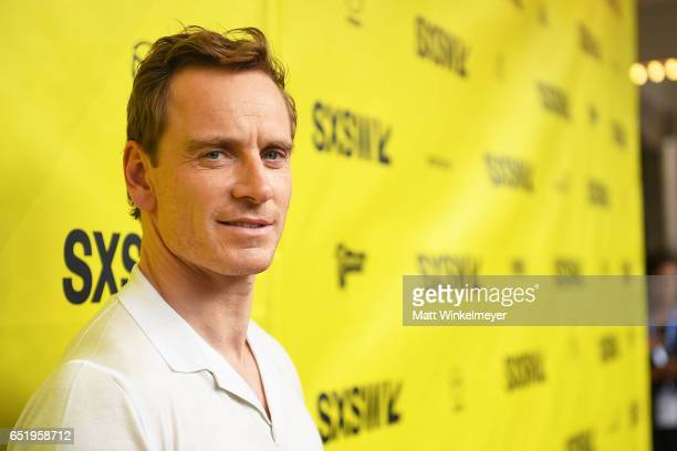 Actor Michael Fassbender attends the 'Song To Song' premiere 2017 SXSW Conference and Festivals at Paramount Theatre on March 10 2017 in Austin Texas