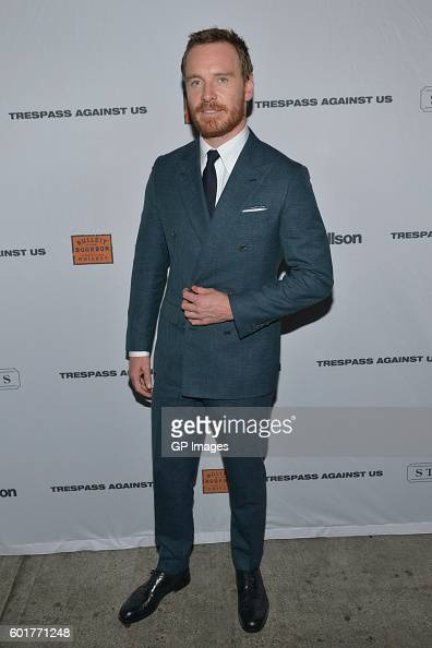 Actor Michael Fassbender attends the 'Trespass Against Us' TIFF Party Hosted By Strellson and Bulleit at the Storys Building on September 9 2016 in...