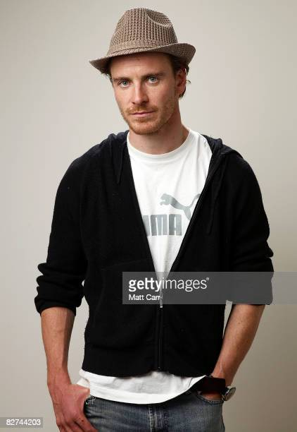Actor Michael Fassbender from the film 'Hunger' poses for a portrait during the 2008 Toronto International Film Festival at The Sutton Place Hotel on...