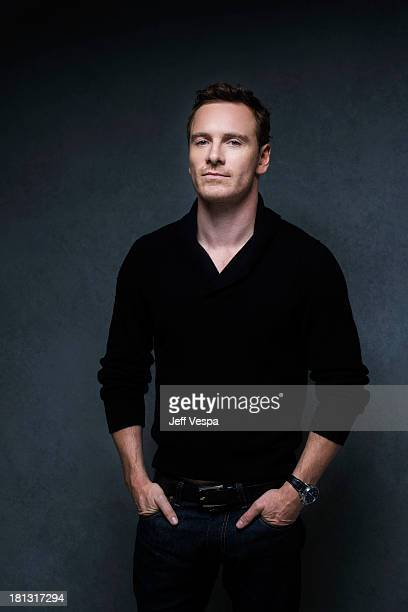 Actor Michael Fassbender is photographed at the Toronto Film Festival on September 7 2013 in Toronto Ontario