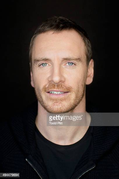 Actor Michael Fassbender is photographed for USA Today on October 4 2015 in New York City