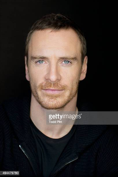 Actor Michael Fassbender is photographed for USA Today on October 4 2015 in New York City PUBLISHED IMAGE