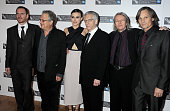Actor Michael Fassbender producer Jeremy Thomas actress Keira Knightley director David Cronenberg screenwriter Christopher Hampton and actor Viggo...