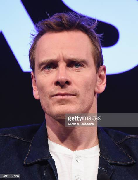 Actor Michael Fassbender takes part in the Made in Austin A Look Into 'Song To Song' panel discussion during 2017 SXSW Conference and Festivals at...