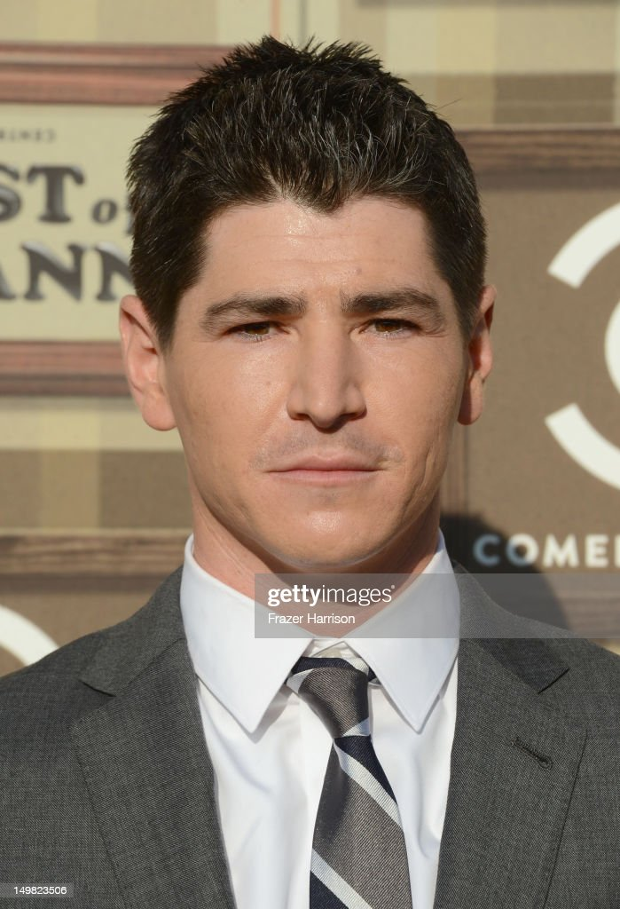 Actor Michael Fishman arrives at the Comedy Central Roast of Roseanne Barr at Hollywood Palladium on August 4, 2012 in Hollywood, California.