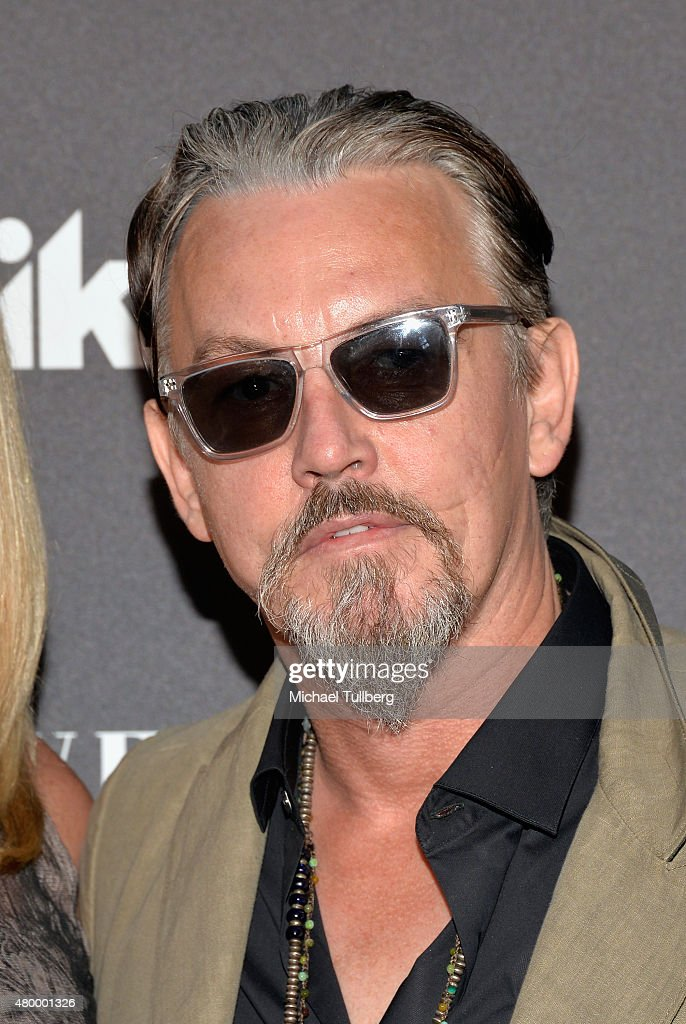 Actor Michael Flanagan attends the premiere of Spike TV's new series 'TUT' at Chateau Marmont on July 8 2015 in Los Angeles California