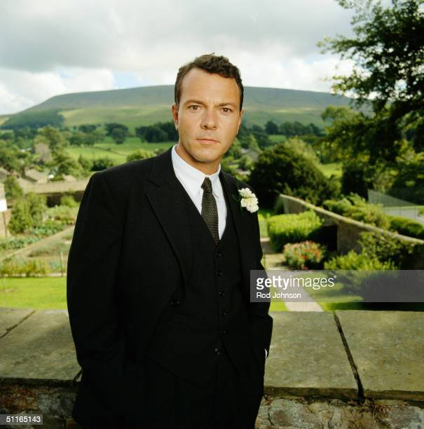 Actor Michael French poses on location on September 01 2001 in London