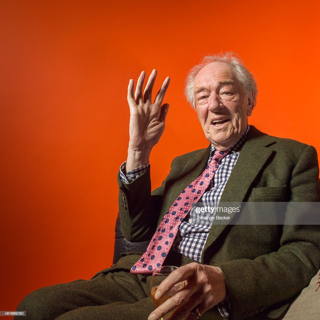 Actor Michael Gambon is photographed at the Charles Finch and Chanel's Pre-BAFTA on February 7, 2015 in London, England. PUBLISHED