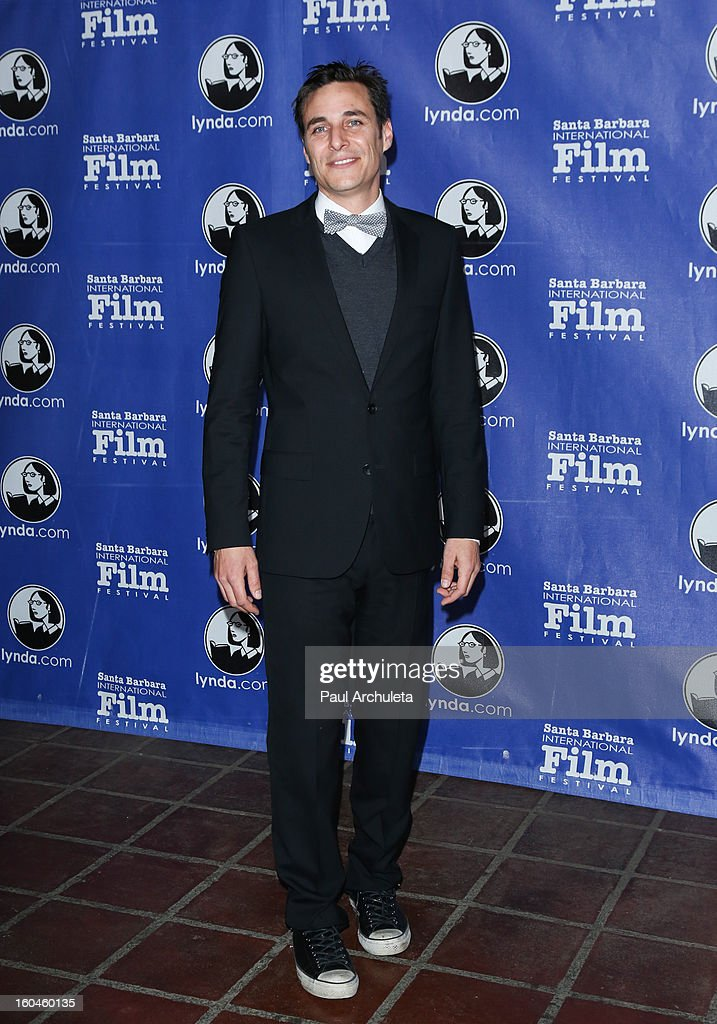 Actor Michael Gio Ferrigno attends the 28th Santa Barbara Film Festival Cinema Vanguard award ceremony at the Arlington Theatre on January 31, 2013 in Santa Barbara, California.