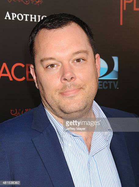 Actor Michael Gladis arrives at the Premiere Of DIRECTV's 'Dark Places' at Harmony Gold Theatre on July 21 2015 in Los Angeles California