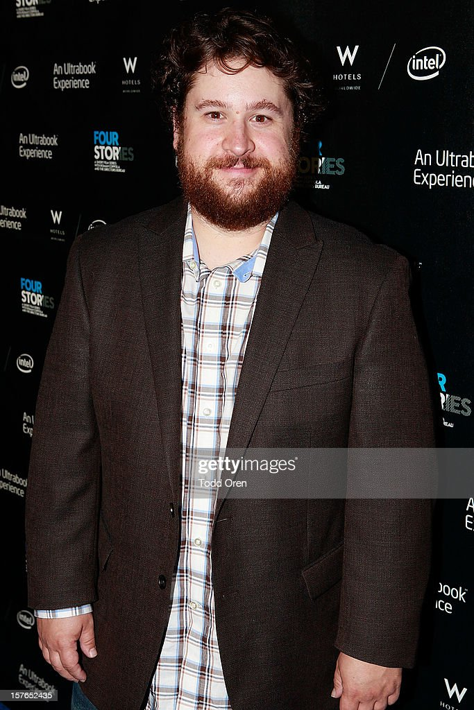 Actor Michael Govier poses at the Intel and W Hotels present Four Stories Film Series at W Hotel Los Angeles - Westwood on December 4, 2012 in Westwood, California.