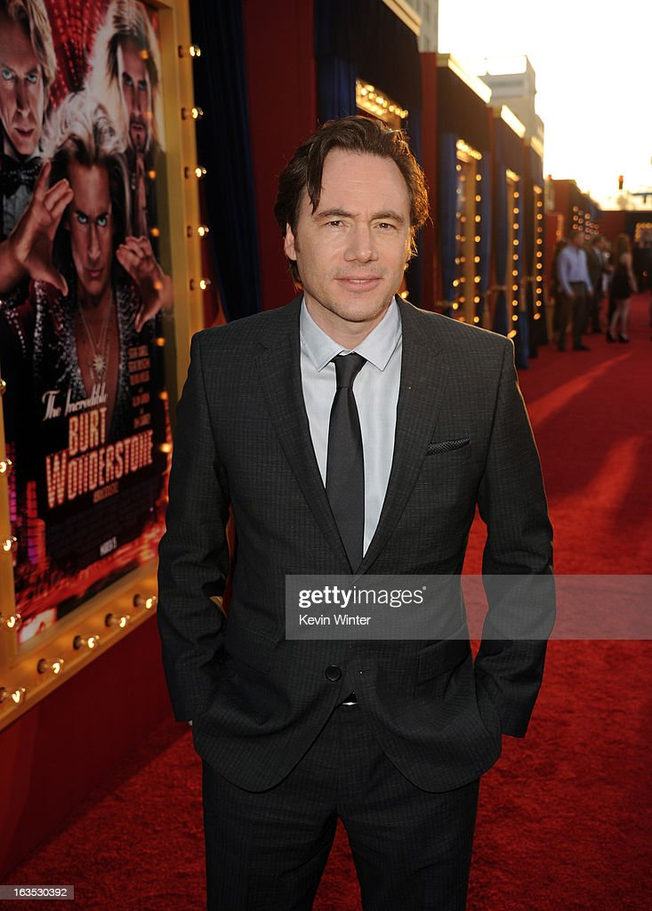 Actor Michael Herbig attends the premiere of Warner Bros. Pictures' 'The Incredible Burt Wonderstone' at TCL Chinese Theatre on March 11, 2013 in Hollywood, California.