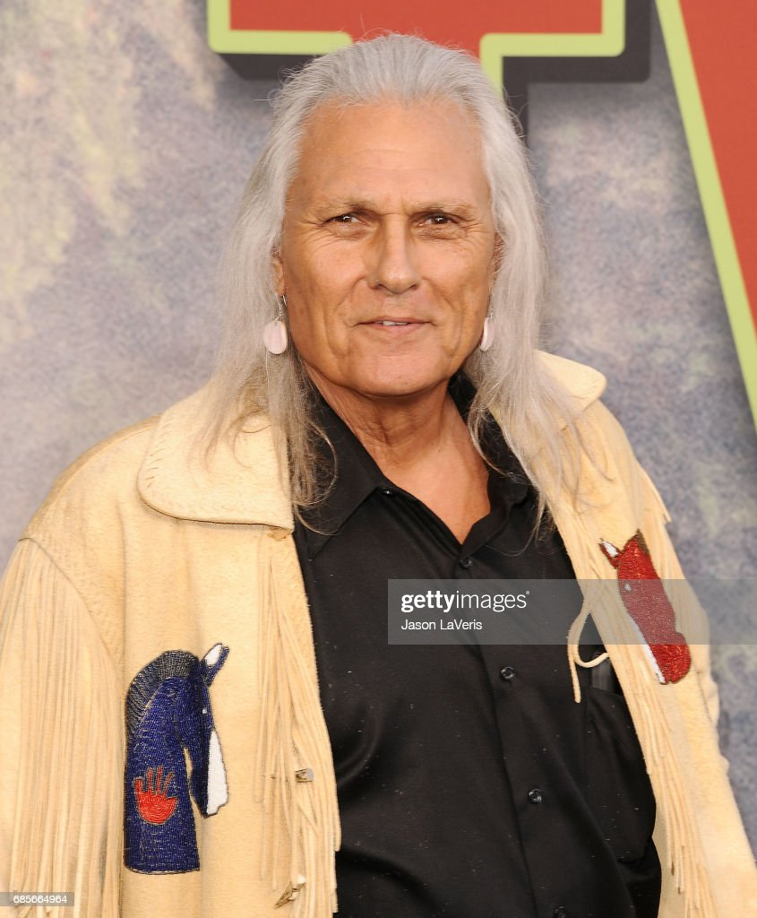 Actor Michael Horse attends the premiere of 'Twin Peaks' at Ace Hotel on May 19, 2017 in Los Angeles, California.