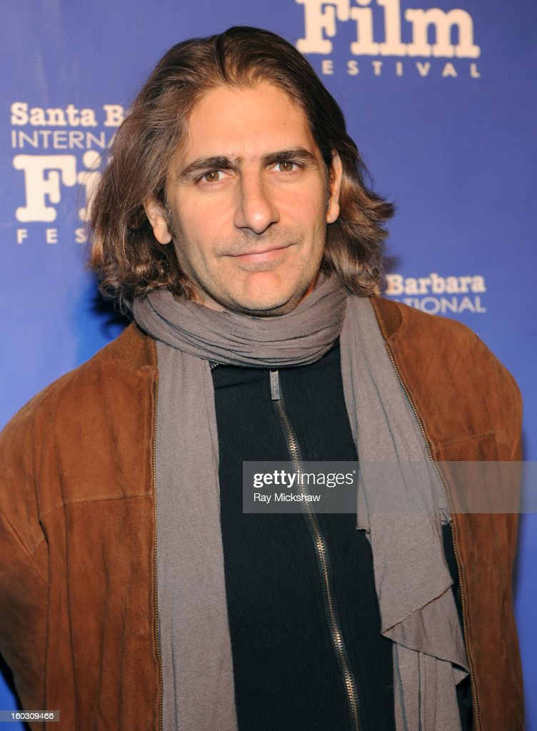 Actor <a gi-track='captionPersonalityLinkClicked' href=/galleries/search?phrase=Michael+Imperioli&family=editorial&specificpeople=209424 ng-click='$event.stopPropagation()'>Michael Imperioli</a> attends a screening of 'Retreat' at the 28th Santa Barbara International Film Festival on January 28, 2013 in Santa Barbara, California.