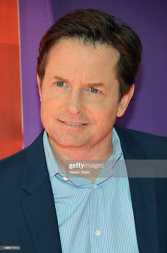 Actor Michael J. Fox attends 2013 NBC Upfront Presentation Red Carpet Event at Radio City Music Hall on May 13, 2013 in New York City.