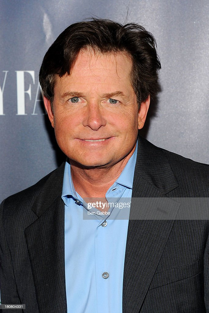 Actor <a gi-track='captionPersonalityLinkClicked' href=/galleries/search?phrase=Michael+J.+Fox&family=editorial&specificpeople=208846 ng-click='$event.stopPropagation()'>Michael J. Fox</a> attends NBC's 2013 Fall Launch Party Hosted By Vanity Fair at The Standard Hotel on September 16, 2013 in New York City.