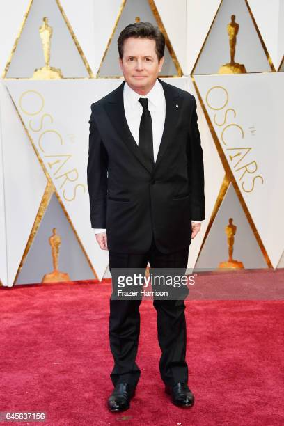 Actor Michael J Fox attends the 89th Annual Academy Awards at Hollywood Highland Center on February 26 2017 in Hollywood California