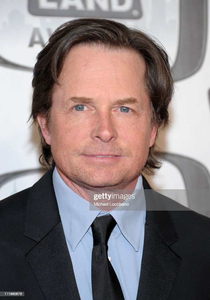 Actor <a gi-track='captionPersonalityLinkClicked' href=/galleries/search?phrase=Michael+J.+Fox&family=editorial&specificpeople=208846 ng-click='$event.stopPropagation()'>Michael J. Fox</a> attends the 9th Annual TV Land Awards at the Javits Center on April 10, 2011 in New York City.