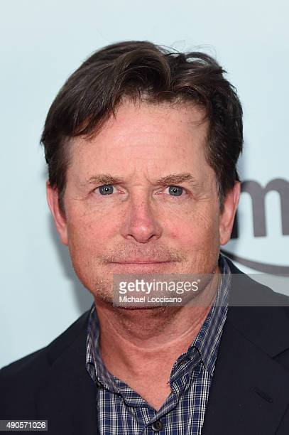 Actor Michael J Fox attends the Amazon red carpet premiere for the brand new original comedy series 'Red Oaks' on September 29 2015 in New York City