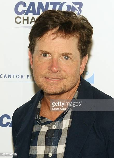 Actor Michael J Fox attends the annual Charity Day hosted by Cantor Fitzgerald and BGC at Cantor Fitzgerald on September 11 2015 in New York City
