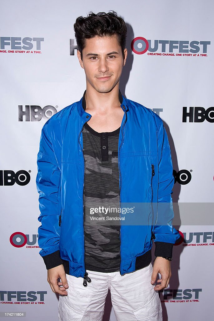 Actor Michael J. Willett attends the 2013 Outfest Film Festival closing night gala of 'G.B.F.' at Ford Theatre on July 21, 2013 in Hollywood, California.