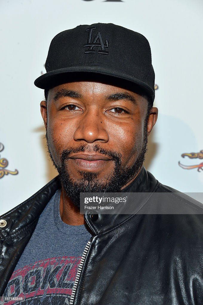 Actor Michael Jai White arrives at SA Studios and Mister Cartoon VIP Screening and After Party of Warner Brothers Pictures 'Gangster Squad' at La Live Regal Cinemas on November 29, 2012 in Los Angeles, California.