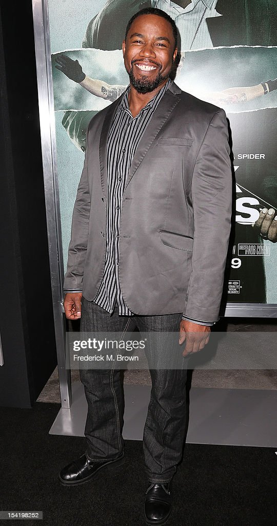 Actor <a gi-track='captionPersonalityLinkClicked' href=/galleries/search?phrase=Michael+Jai+White&family=editorial&specificpeople=1194842 ng-click='$event.stopPropagation()'>Michael Jai White</a> attends the Premiere Of Summit Entertainment's 'Alex Cross' at the ArcLight Cinemas Cinerama Dome on October 15, 2012 in Hollywood, California.