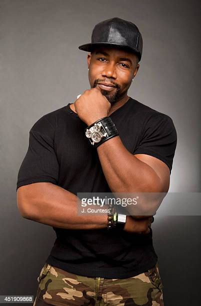Actor Michael Jai White is photographed at the American Black Film Festival at the Metropolitan Pavilion on June 20 2014 in New York City
