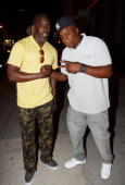 Actor Michael K Williams and rapper Jadakiss attend Drake x Crown Royal x 5Ninth at 5Ninth on June 15 2010 in New York City