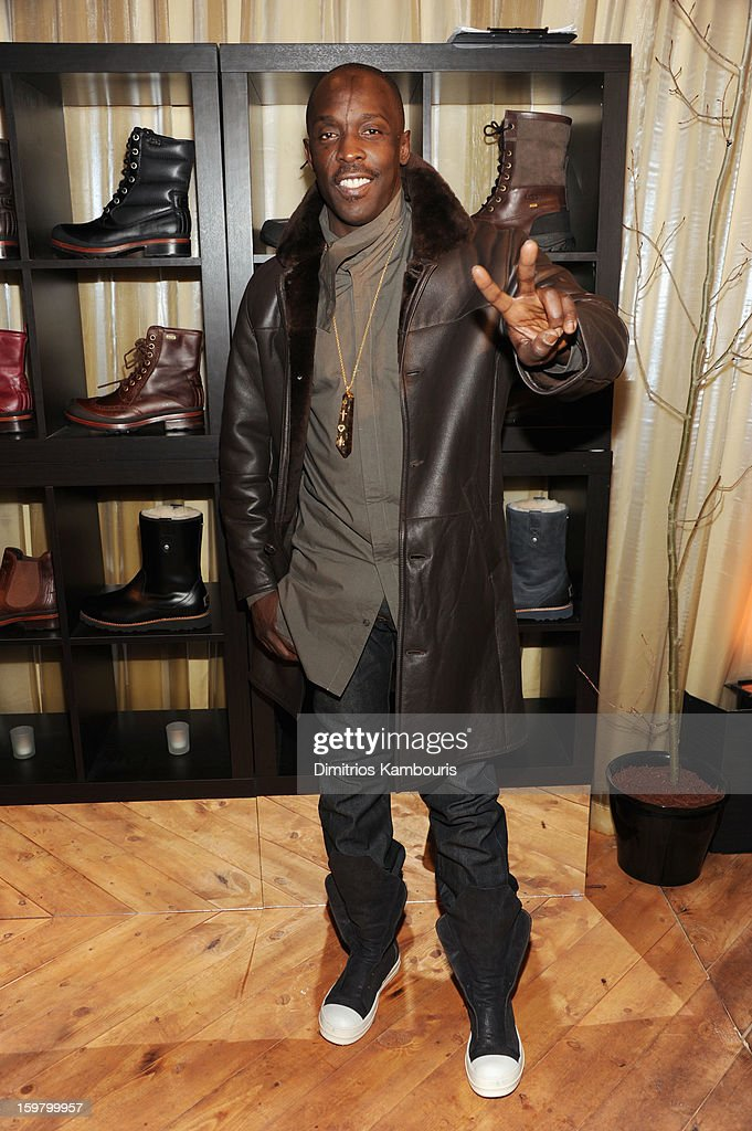 Actor <a gi-track='captionPersonalityLinkClicked' href=/galleries/search?phrase=Michael+K.+Williams&family=editorial&specificpeople=855658 ng-click='$event.stopPropagation()'>Michael K. Williams</a> attends Day 3 of Village At The Lift 2013 on January 20, 2013 in Park City, Utah.