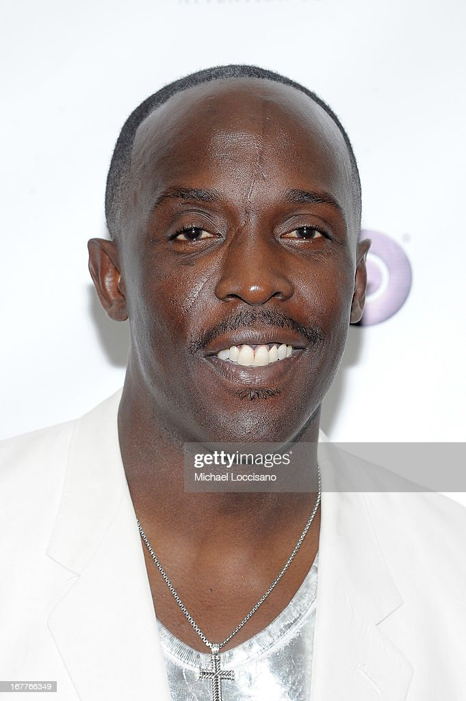 Actor <a gi-track='captionPersonalityLinkClicked' href=/galleries/search?phrase=Michael+K.+Williams&family=editorial&specificpeople=855658 ng-click='$event.stopPropagation()'>Michael K. Williams</a> attends the 2013 Actors Fund's Annual Gala honoring Robert De Niro at The New York Marriott Marquis on April 29, 2013 in New York City.