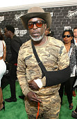 Actor Michael K Williams attends the BET Hip Hop Awards 2014 presented by Sprite at Boisfeuillet Jones Atlanta Civic Center on September 20 2014 in...