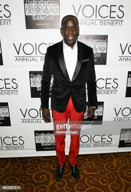 Actor Michael K Williams attends the Brotherhood/Sister Sol 2017 Gala at Gotham Hall on May 11 2017 in New York City