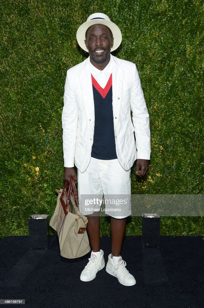 Actor <a gi-track='captionPersonalityLinkClicked' href=/galleries/search?phrase=Michael+K.+Williams&family=editorial&specificpeople=855658 ng-click='$event.stopPropagation()'>Michael K. Williams</a> attends the CHANEL Tribeca Film Festival Artists Dinner at Balthazar on April 22, 2014 in New York City.