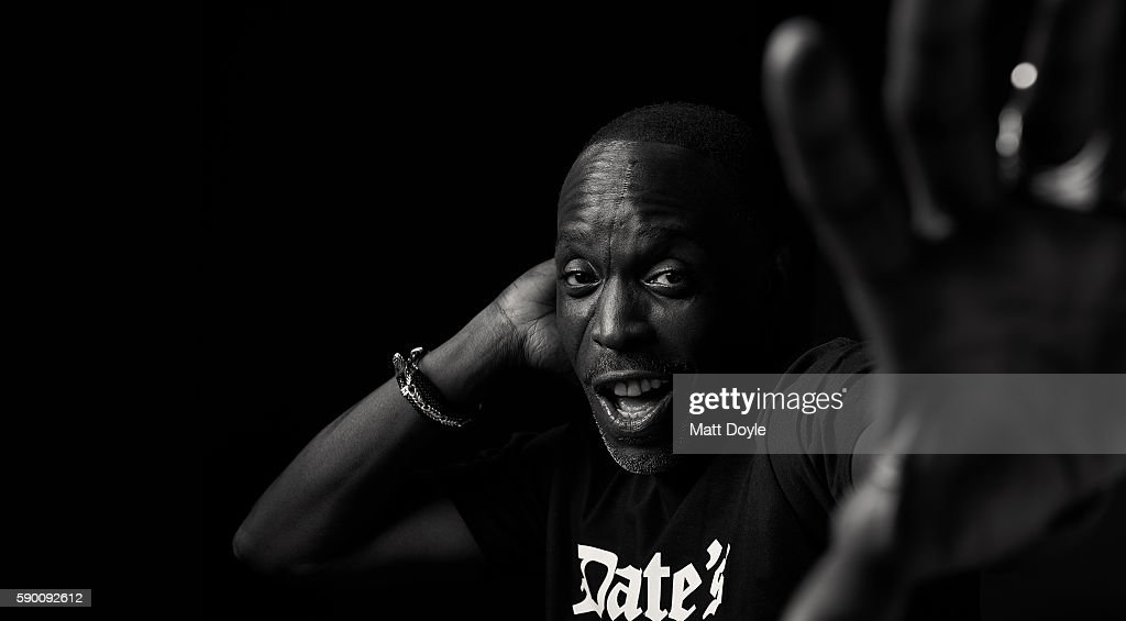 Michael K. Williams, BackStage, July 21, 2016