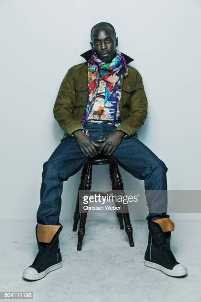 Actor Michael K Williams photographed on March 15 in Los Angeles California