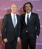 Actor Michael Keaton and director Alejandro Gonzalez Inarritu arrive at the 26th Annual Palm Springs International Film Festival Awards Gala...