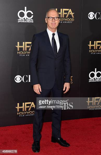 Actor Michael Keaton attends the 18th Annual Hollywood Film Awards at The Palladium on November 14 2014 in Hollywood California