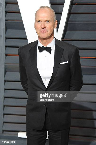 Actor Michael Keaton attends the 2015 Vanity Fair Oscar Party hosted by Graydon Carter at Wallis Annenberg Center for the Performing Arts on February...