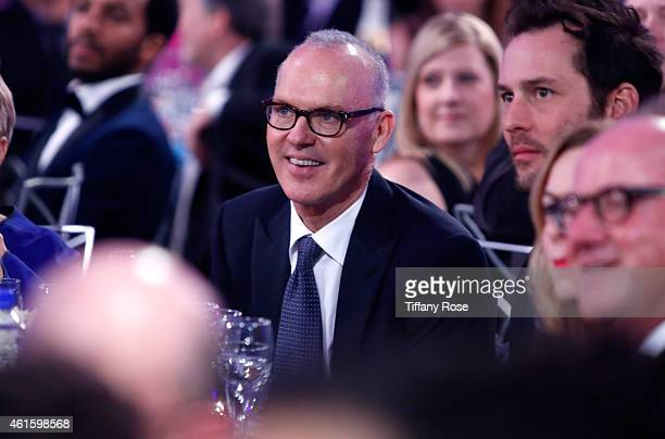 Actor Michael Keaton attends the 20th annual Critics' Choice Movie Awards at the Hollywood Palladium on January 15 2015 in Los Angeles California
