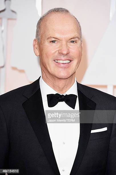 Actor Michael Keaton attends the 87th Annual Academy Awards at Hollywood Highland Center on February 22 2015 in Hollywood California