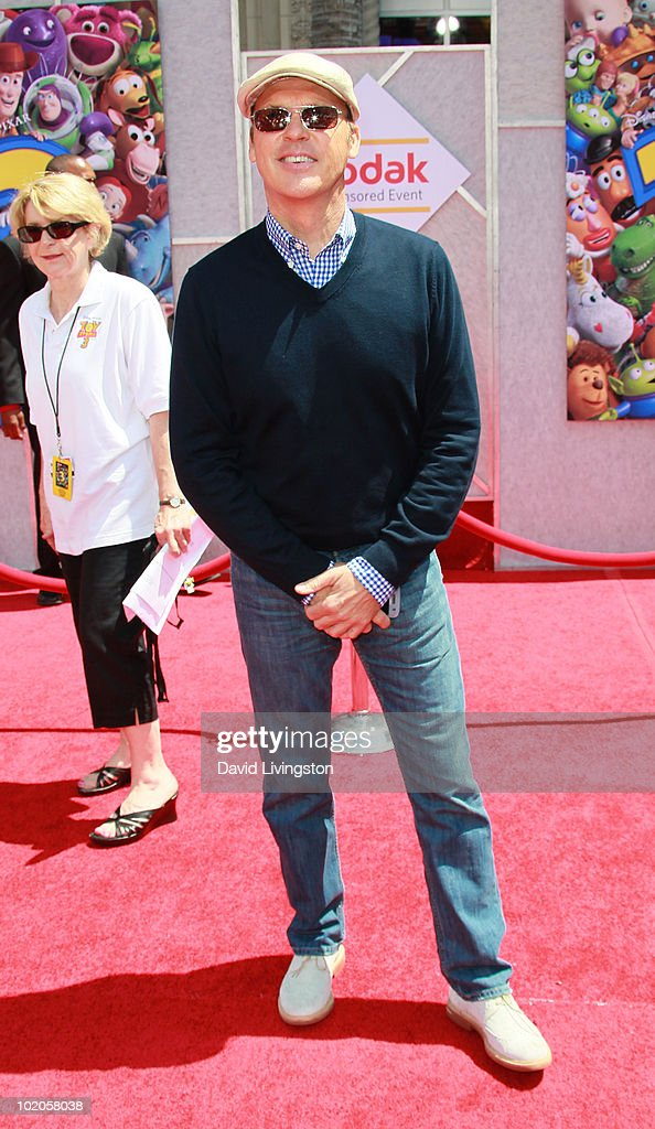 Actor Michael Keaton attends the Los Angeles premiere of 'Toy Story 3' at the El Capitan Theatre on June 13, 2010 in Hollywood, California.