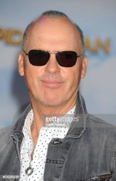 Actor Michael Keaton attends the premiere of Columbia Pictures' 'SpiderMan Homecoming' held at TCL Chinese Theatre on June 28 2017 in Hollywood...