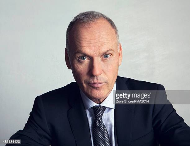 Actor Michael Keaton is photographed at the 2014 People Magazine Awards portrait studio on December 18 2014 in Los Angeles California