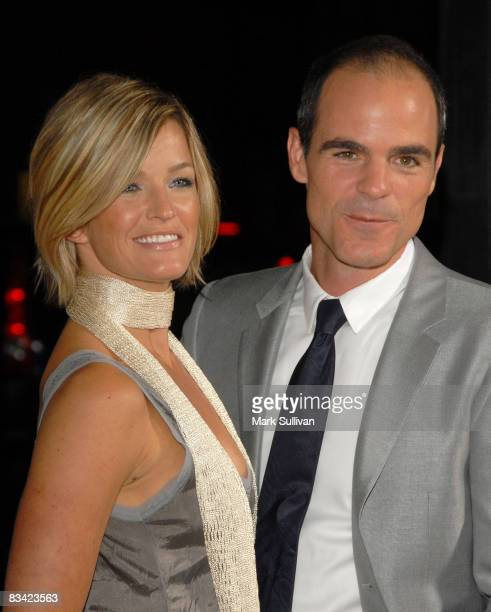 Actor Michael Kelly and guest attend the Los Angeles premiere of 'Changeling' on October 23 2008 in Beverly Hills California