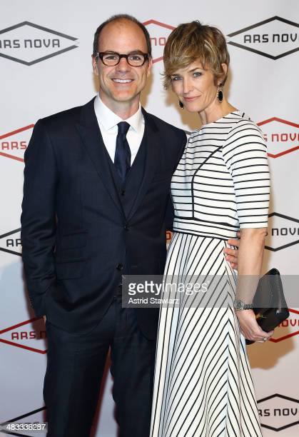 Actor Michael Kelly and Karyn Kelly attend Ars Nova Diamond Ball at Guastavino's on April 7 2014 in New York City