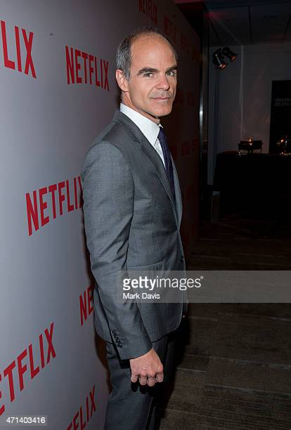 Actor Michael Kelly arrives at Netflix's 'House Of Cards' QA screening event held at the Samuel Goldwyn Theater on April 27 2015 in Beverly Hills...