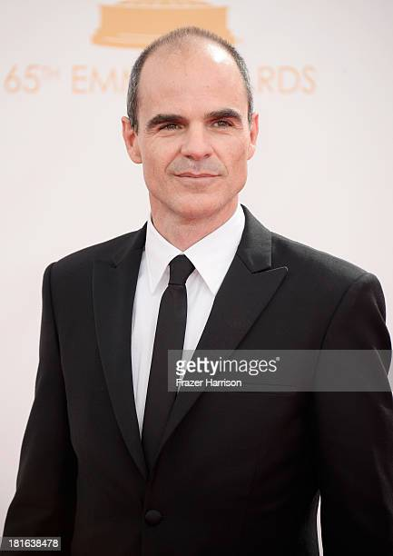 Actor Michael Kelly arrives at the 65th Annual Primetime Emmy Awards held at Nokia Theatre LA Live on September 22 2013 in Los Angeles California